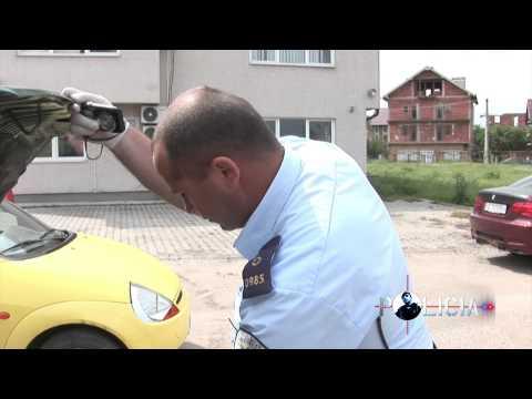 Policia zbulon vetur�n e falsifikuar
