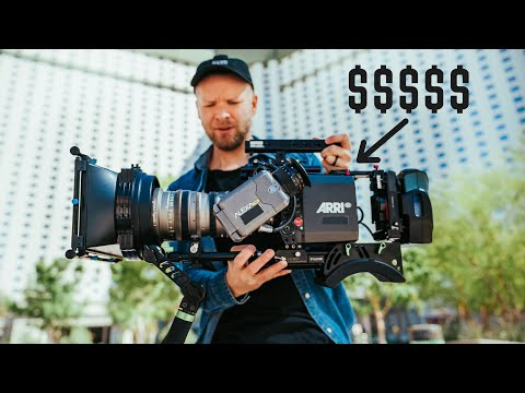 WHY HOLLYWOOD USES THESE CAMERAS THE MOST ($45,000 BODY ONLY!!!)