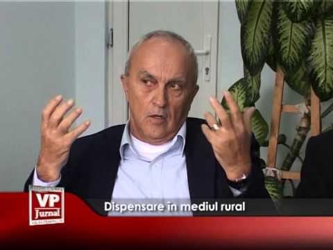 Dispensare în mediul rural