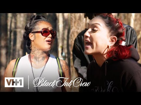 Donna Is Over Talking It Out w/ Tatti | Black Ink Crew