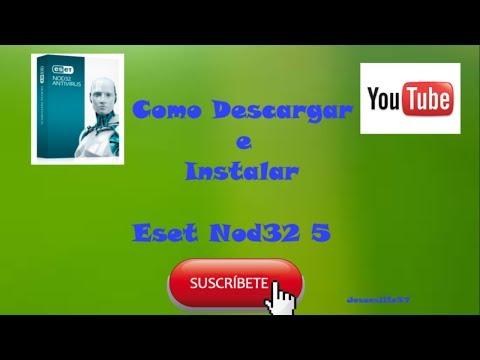 Descargar Eset Nod32 Antivirus 5,6,7