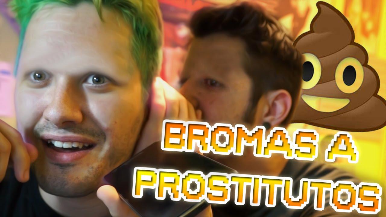 Bromas a prostitutos | Ft. Auronplay