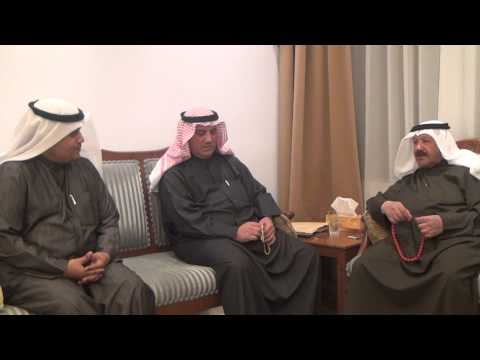 وجهاء وأعيان من أسرة العتيقي في لقاء مع حمد الحربي مؤسس قناة نيوز حرب ٢٠١٥م