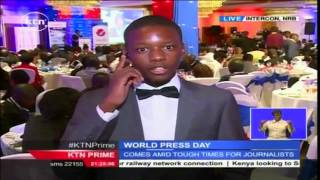 KTN's Dennis Otieno With Live Update On Media Council Of Kenya Awards Ceremony