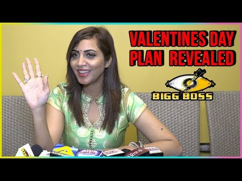 Arshi Khan REVEALS Her Valentines Day Plan | Bigg