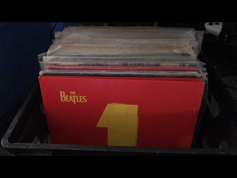 My Beatles Vinyl Record Collection as of 2018