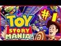 Disney Pixar Toy Story Mania Walkthrough Part 1 ps3 X36