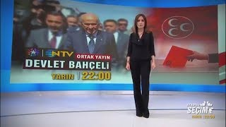 Star TV- NTV ortak yayınında 'Seçim Özel'in canlı yayın konuğu olacak.