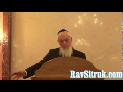 Rav Sitruk - Yom Kippour