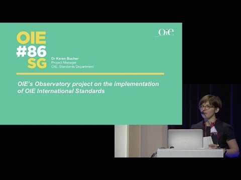 OIE's Observatory project on the implementation of OIE International Standards