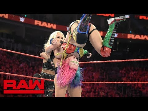 WWE Women's Tag Team Title Fatal 4-Way Elimination Match: Raw, Aug. 5, 2019