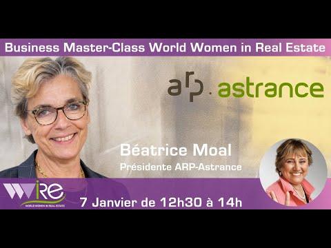 teaser de la Business Master Class WWIRE de Béatrice Moal la présidente d' ARP-ASTRANCE