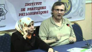 Rumi foundation of Albania and saadi college in Coporation with Dr. Oscar Brenifier, head of french institute of