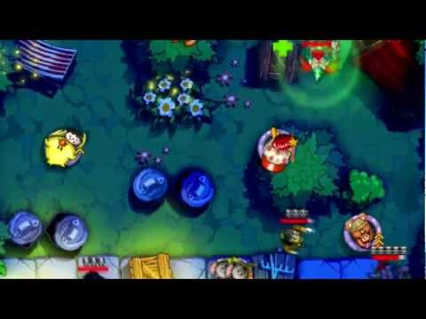 Video of Garfield Zombie Defense