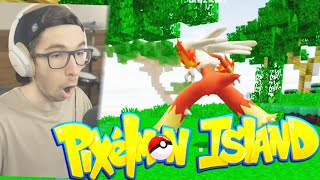 The story of a trainer and his Blaziken (PIXELMON ISLAND 2020)