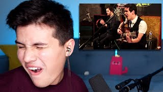 Video Vocal Coach Reaction to Brendon Urie - The Ballad of Mona Lisa (Acoustic) MP3, 3GP, MP4, WEBM, AVI, FLV Desember 2018