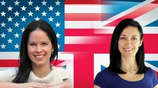 British vs American Pronunciation, English Pronunciation Lesson