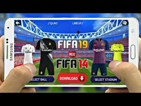 Download Fifa 19 Mobile Offline New Update Transfer & Kits 2018/2019 | Fifa 14 Android