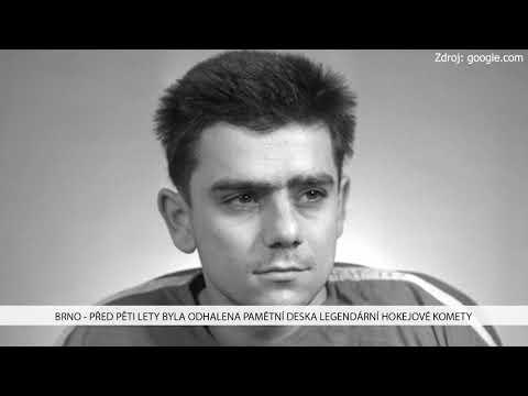 TV Brno 1: 30.11.2017 Před pěti lety byla odhalena pamětní deska legendární hokejové komety