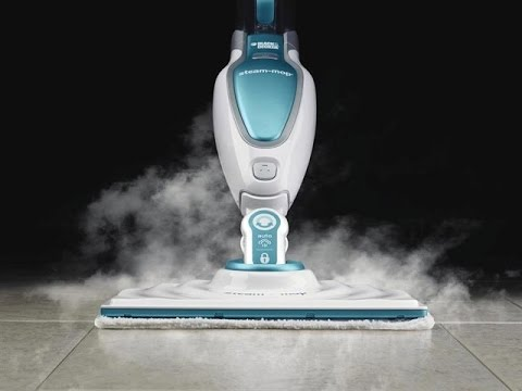 Lavapavimenti a Vapore Black & Dacker Steam Mop 17 in 1