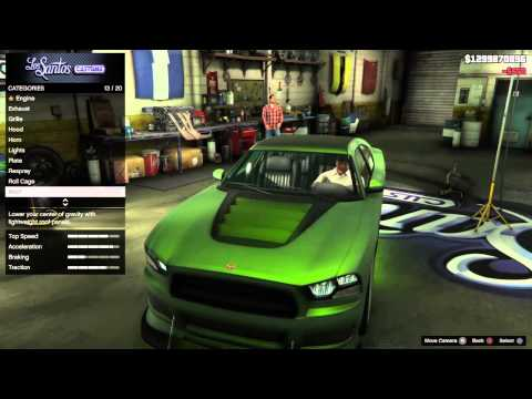 Grand Theft Auto V Cars -  Franklin's Bravado Buffalo S - Customization And Gameplay