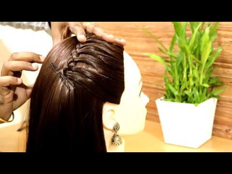 Easy Side Braid Hairstyles for Beginners  Back to school Hairstyles  French Braid Hairstyles