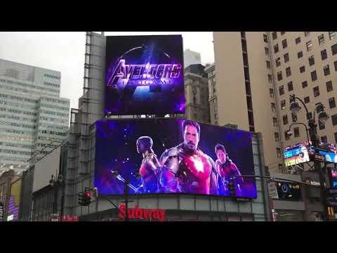 Avengers : Endgame Promo at New York