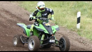 Molln Germany  city photos : Scharfe Kurven - Quad - ADAC #Motocross - Mölln - #Germany - #video 10.07.2016