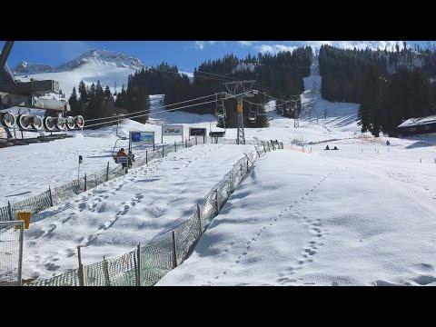Skigebiet Schwarzsee Video