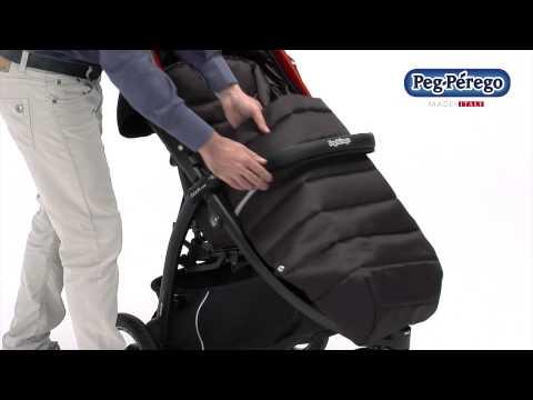 Прогулочная коляска Peg-Perego Book Cross Completo Mod Beige (бежевая), (IP02300079RO86EB86)