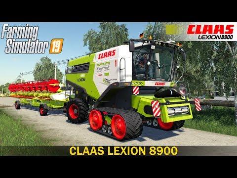 Claas Lexion 8900 v1.0