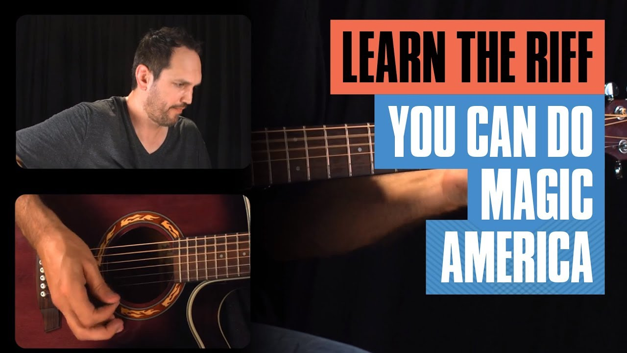 You Can Do Magic Acoustic Guitar Lesson | Guitar Tricks