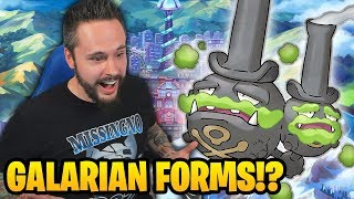 GALARIAN FORMS: WEEZING, LINOONE AND OBSTAGOON? | Pokémon Sword & Shield BRAND NEW INFO revealed! by Ace Trainer Liam