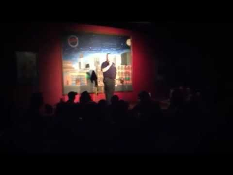 Some fun on stage at Wiley's Comedy Club