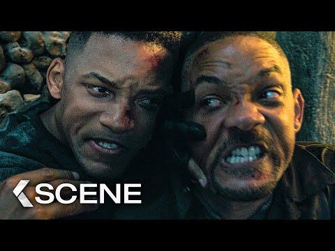 GEMINI MAN - Catacomb Fight Extended Scene (2019)