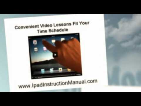 Ipad Instruction Manual