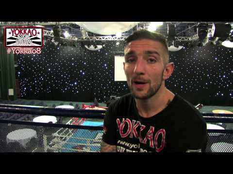 one day - Liam Harrison one day before his fight vs Houcine Bennoui at Supershowdown presents Yokkao 8 Saturday 8th March 2014. Tickets and info: http://www.yokkao.com...