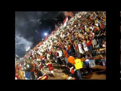 Barra del Caracas FC en Maracay (22-10-2011) - Los Demonios Rojos - Caracas