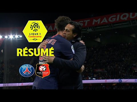 Paris Saint-Germain - Stade Rennais FC ( 0-2 ) - Résumé - (PARIS - SRFC) / 2017-18