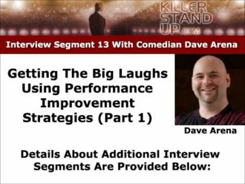 Stand-up Comedy Act Performance Improvement (Part 1)