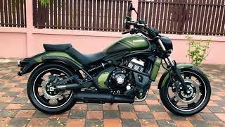 9. 2019 Kawasaki Vulcan S Green Matte