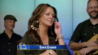 Sara Evans chats about including her daughter on her new album and performing with her family.
