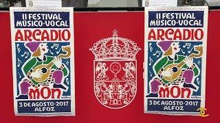 """Presentación del II Festival Músico-Vocal """"Arcadio Mon"""", de Alfoz"""