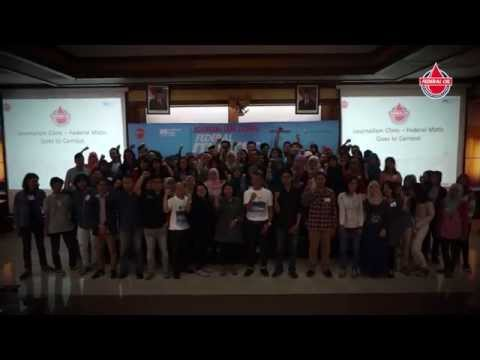 Journalism Clinic Federal Matic UNAIR Surabaya