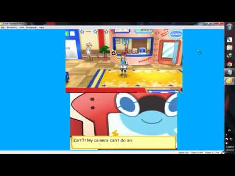 CITRA 3DS - Pokemon Ultra Moon : Fix Black Screen Bug at Alola PhotoClub