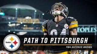 Video Antonio Brown's Path to Pittsburgh   Pittsburgh Steelers MP3, 3GP, MP4, WEBM, AVI, FLV Desember 2018