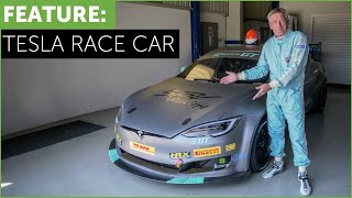 Video Tesla Race Car! Tiff Needell drives The Electric Tesla GT P100DL MP3, 3GP, MP4, WEBM, AVI, FLV September 2018