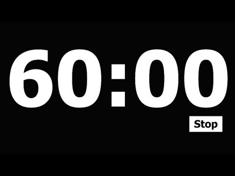 60 Minute Countdown Timer