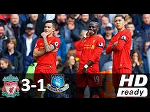 Liverpool vs Everton 3-1 - All Goals and Highlights - Premier League 2017 HD