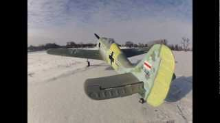 RCDOX 2012 Dynam FW-190 Initial Thoughts On Flight RC Plane